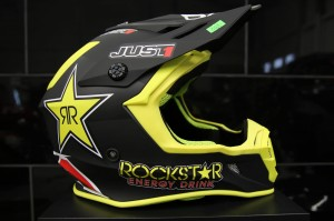 Kask cross enduro Just 1 J38 Rockstar rozmiar S